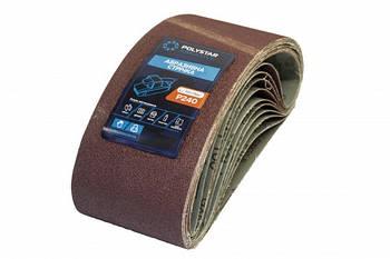 Лента шлифовальная бесконечная Polystar Abrasive 75х533 мм P240