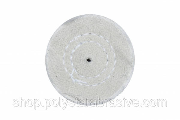 Круг муслиновый CROWN белый d-60 мм, 50 слоев