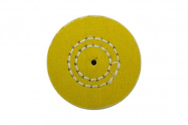Коло муслиновый CROWN жовтий d-60 мм, 50 шарів