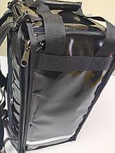 Раскладной рюкзак для еды, пиццы 32*32, напитков. Раскладная сумка доставки еды, пиццы, суши. ПВХ. Каркас