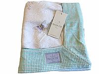 Детское полотенце Maison D'or Cute Princess махровое  75-100 см белое