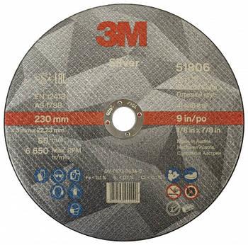 Круг отрезной для металла 3M Silver Т41 230х3х22,23мм