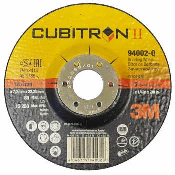 Зачисний диск 3M Cubitron II Т27, 127х7,5х22,23мм