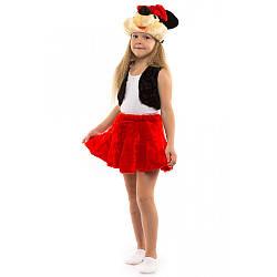 Карнавальный костюм МИННИ МАУС для девочки 3,4,5,6 лет детский маскарадный костюм МИККИ МАУС девочка