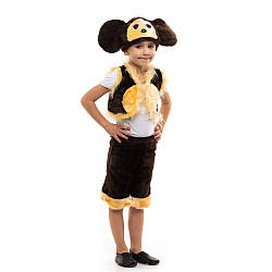 Карнавальный костюм ЧЕБУРАШКА для детей 3,4,5,6,7 лет детский маскарадный костюм ЧЕБУРАШКИ