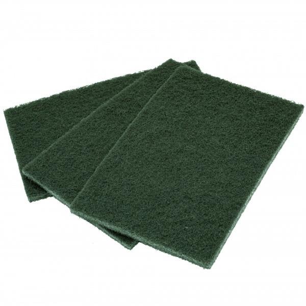 Скотч брайт лист 150*230 мм Р240 зелений
