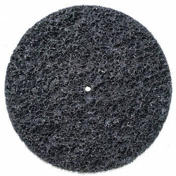 Круг зачистной без основы черный (корал) мягкий Polystar Abrasive d-150 мм
