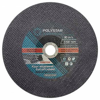 Круг отрезной по металлу Polystar Abrasive 300 3,0 32