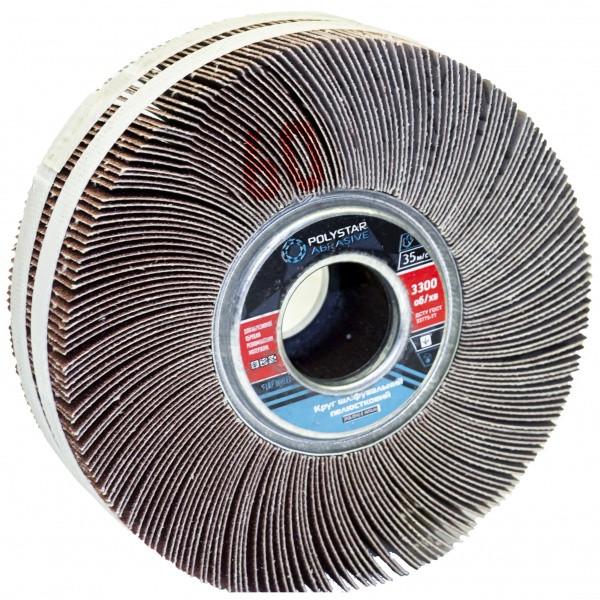 Круг шлифовальный лепестковый КШЛ 150х50х32 мм, P60