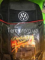 Чехлы на сиденья модельные Volkswagen touran (фольксваген тауран туран 2) 2010+ раздельная