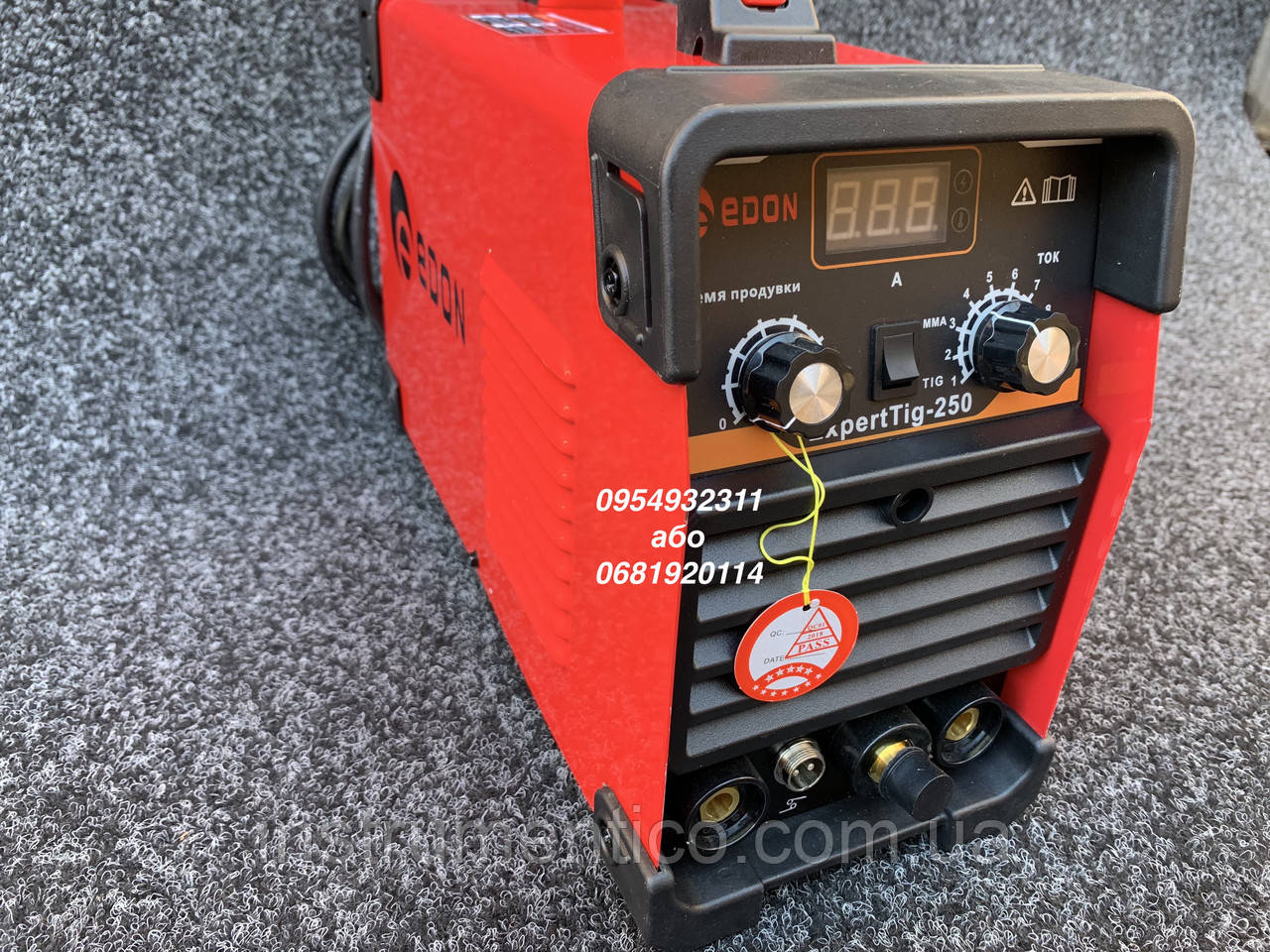 Инверторный аргонно-дуговой сварочный аппарат Edon Expert Tig-250