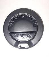 Крышка для бумажных стаканов 420 мл. (91 мм.) черная, фото 1