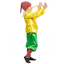 Детский карнавальный костюм БУРАТИНО для мальчика 4,5,6,7,8,9 лет, детский новогодний костюм БУРАТИНО маскарад