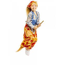 Детский карнавальный костюм БАБА ЯГА для детей 5-10 лет, детский новогодний костюм БАБЫ ЯГИ маскарадный