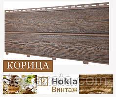 Ю-Пласт Stone-House HOKLA (ХОКЛА) Винтаж Корица (0,5 м2) Фасадная панель под дерево