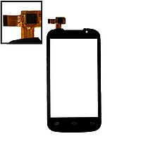 Сенсор (тачскрін) Prestigio 3400 MultiPhone PAP чорний, фото 1