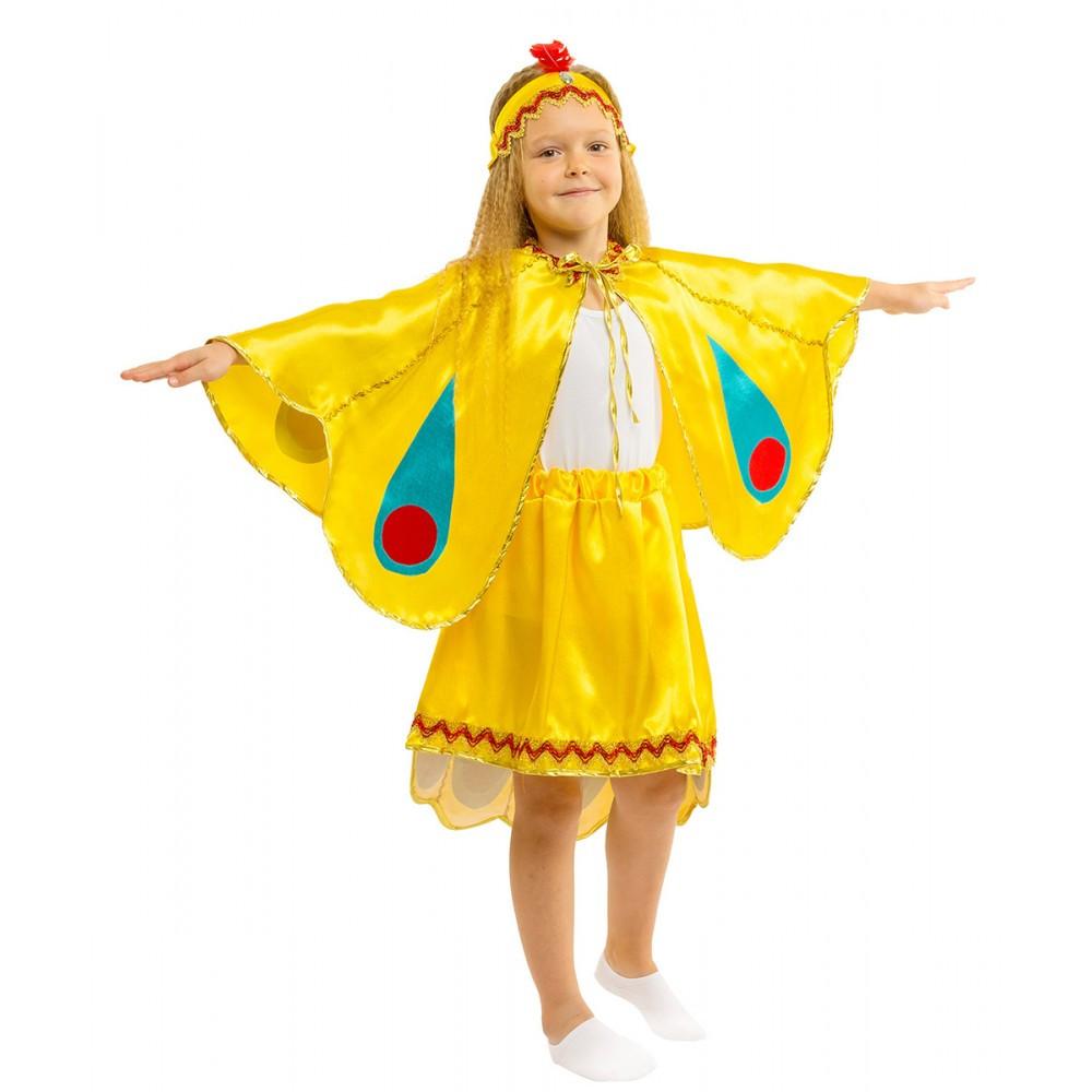 Карнавальный костюм ЖАР-ПТИЦА для девочки 4,5,6,7,8,9 лет, детский маскарадный костюм ЖАРПТИЦЫ