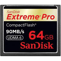 Карта памяти SANDISK 64Gb Compact Flash eXtreme Pro (SDCFXP-064G-X46/SDCFXPS-064G-X46)