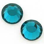 Стразы Сваровски 2028 Blue Zircon 229, 100шт (SS10)*