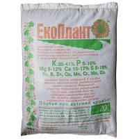 Экоплант комплексное минеральное удобрение (мешок 20 кг)