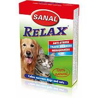 Sanal  RELAX-антистрессовое средство для кошек, собак и грызунов 15таб (SV5021)