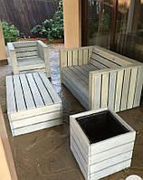 Комплект мебели в сад дерев'яний