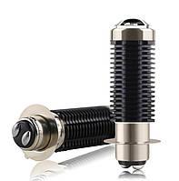 Мото лампа LED скутер, мопед R8 15W P15-D25 (1 ус), линзованые