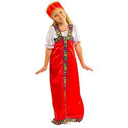 Карнавальный костюм АЛЕНУШКА, РУССКАЯ КРАСАВИЦА детский русский национальный костюм для девочки
