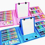 Дитячий набір для малювання. Валіза творчості. 208 предметів. Для дівчаток., фото 4