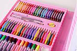 Детский набор для рисования. Чемодан творчества. 208 предметов. Для девочек., фото 5