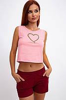 Костюм женский 102R096 цвет Розово-бордовый
