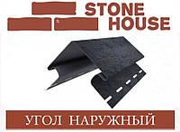 ЮПЛАСТ Stone House Камень Угол наружный фасадной панели, фото 1