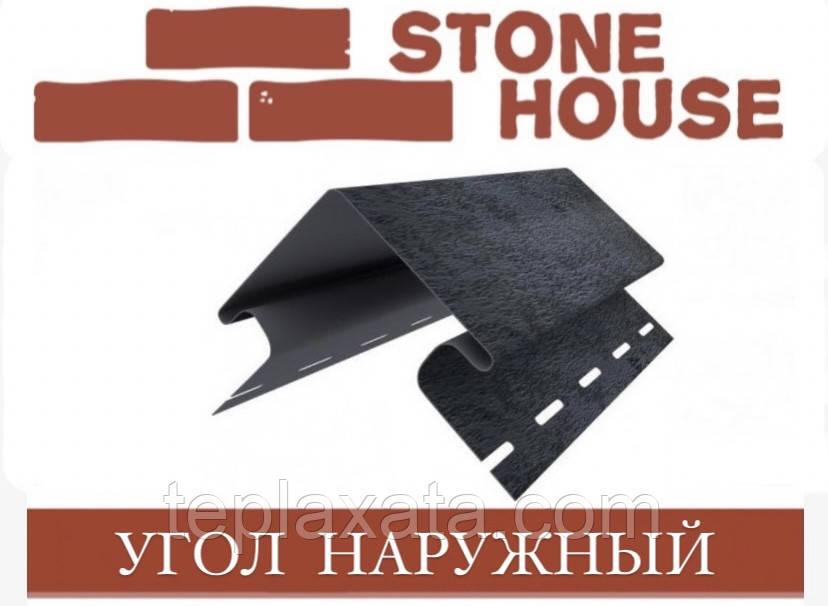ЮПЛАСТ Stone House Камень Угол наружный фасадной панели