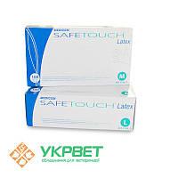 Перчатки латексные неопудренные Safe Touch