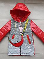 Курточка на дівчинку 122-134, фото 1