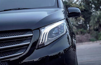 Фари Mercedes W447 Vito V-class тюнінг Full Led оптика (стиль 222)