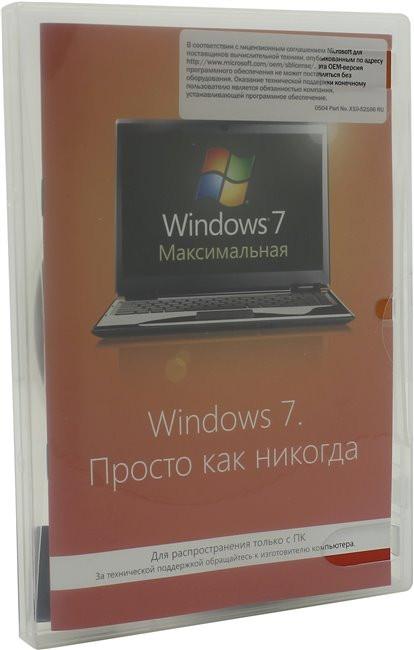 Программная продукция Microsoft Windows 7 (GLC-00717)