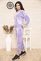 Спорт костюм женский 104R0036 цвет Сиреневый