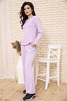 Спорт костюм женский 104R0035 цвет Сиреневый