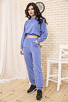 Спорт костюм женский 104R0034 цвет Синий