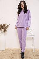 Спорт костюм женский 104R0033 цвет Сиреневый