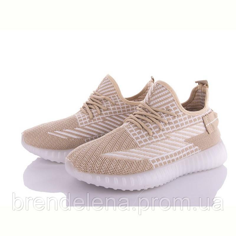 Женские текстильные кроссовки AESD р36-41(код 0150-38)