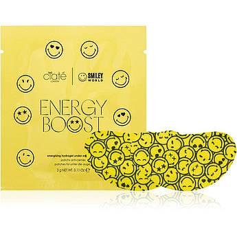 Гидрогелевые патчи с коллагеном и центеллой Ciate London & Smiley Energy Boost Revitalising Eye Patches 3 г