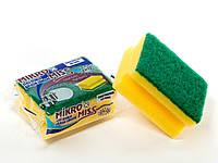 Губка для мытья посуды профильная Top Pack® 1шт/уп