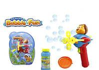 Игрушка Мыльные пузыри Самолет с мишкой 60 мл 3 вида 10058АHOBB-BF