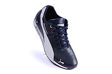 Мужские кожаные кроссовки Puma BMW MotorSport (реплика), фото 3
