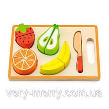 Іграшкові продукти Viga Toys Дерев'яні фрукти (50978)