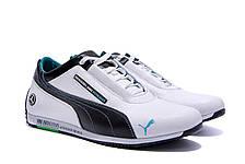 Мужские кожаные кроссовки Puma Mersedes Amg Petronas (реплика), фото 3