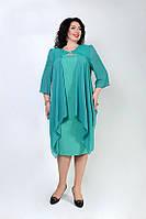 Очаровательное женское платье больших размеров 50 - 60