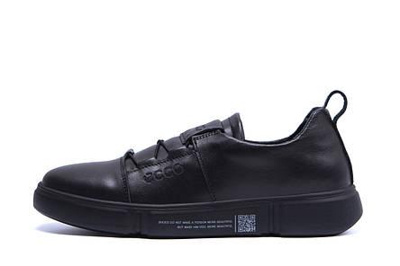 Мужские кожаные кроссовки  Е-series  (реплика), фото 2